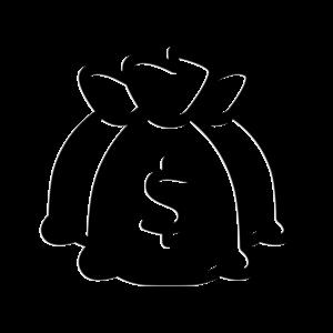 icon of three bags of money